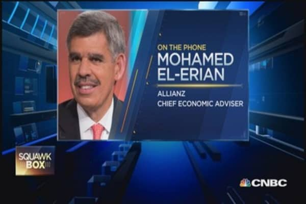 Time to take stimulus out of market: El-Erian