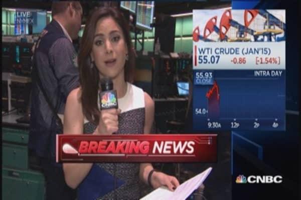 Crude oil inventories down 847K barrels