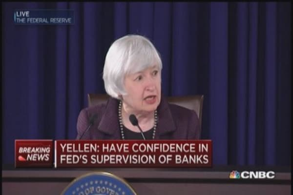 Yellen addresses potential Russian spillover