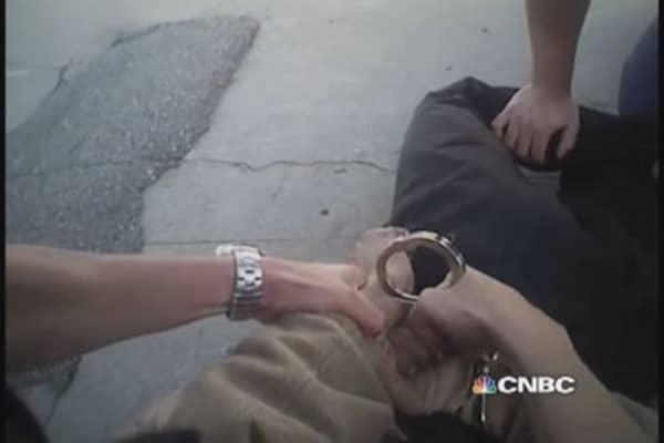 Rialto police body cameras in action