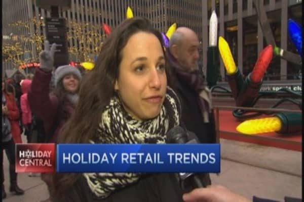 What holiday shoppers want this year