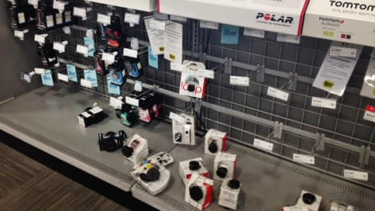 Wearable devices have been persistently out of stock in Best Buy stores since Black Friday.