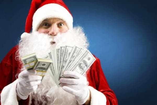 Santa rally on the way?
