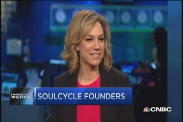 Traders try SoulCycle: Stephanie vs. Josh
