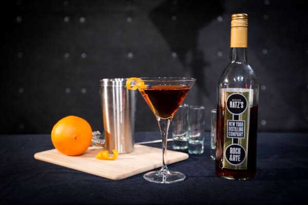 New York Distilling Company's Rock & Rye cocktail.
