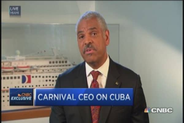Carnival CEO: Very excited about Cuba