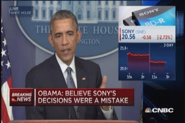 President Obama: We will respond to N. Korean hack