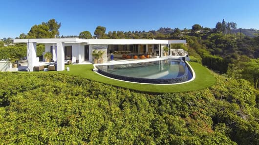 Minecraft founder Markus Persson bought this Beverly Hills, California, home for $70 million, according to sources.