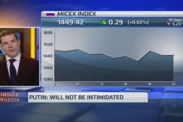 Russia to enter 'deep recession' in 2015?