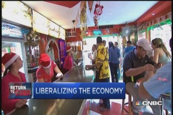 Liberalizing Cuba's economy