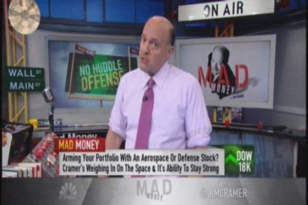 Cramer: Defense stocks can do no wrong