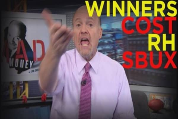Cramer: These Stocks Are Winners