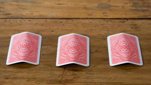 3 card monte new york