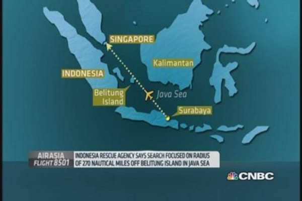 Search to resume for missing AirAsia jet