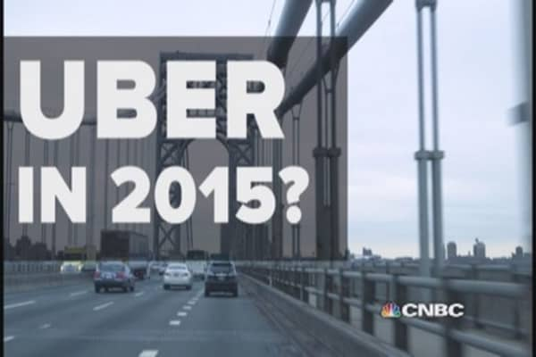 Uber remains a big disruptor in 2015