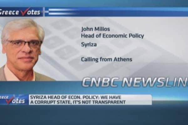 Greek opposition party dismisses 'communist' criticisms