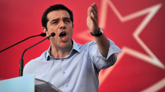 Alexis Tsipras, leader of Syriza