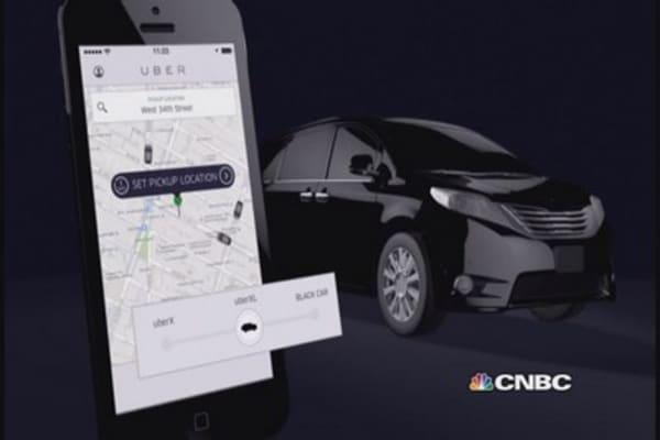 Uber 'hails' New Year's big night