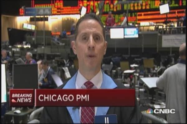 Chicago PMI 58.3