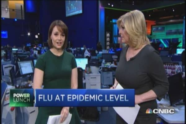 CDC warns on flu epidemic