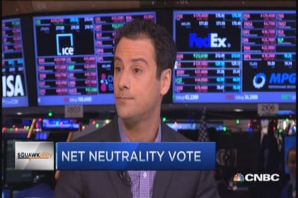 FCC's net neutrality vote ahead