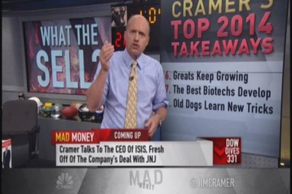 Cramer's lessons of 2014