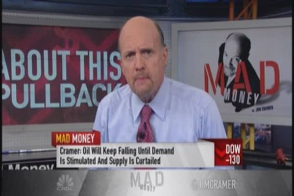 Cramer: About this pullback ...it's not so bad
