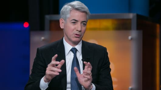 Bill Ackman joins Squawk Box on their first day at their new set in New York City.
