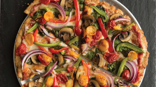 Pie Five Pizza Farmer's Market pizza