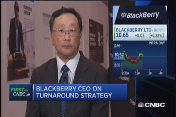 BlackBerry CEO talks wearables, BBM