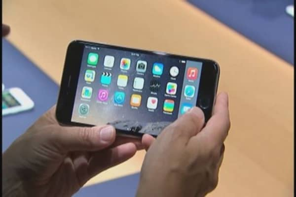 iPhone boosts Apple's mobile market share