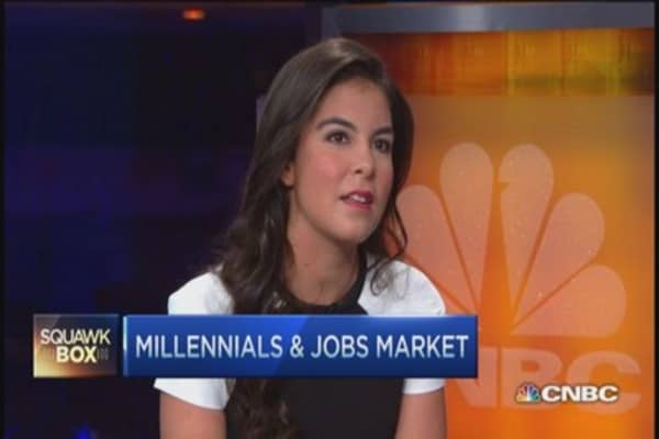 Millennials... breaking the job mold