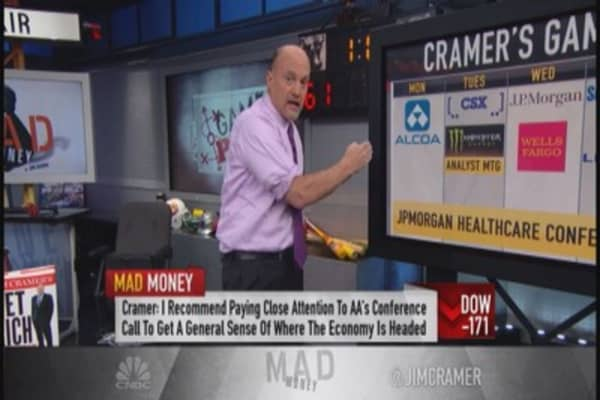 Cramer: Earning season back; Learn from CEOs