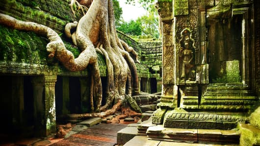 Temple of Ta Prohm