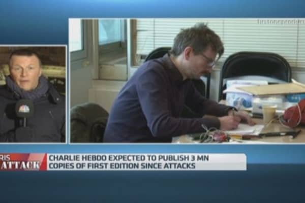 Charlie Hebdo to print 3M copies with Prophet Muhammed cover