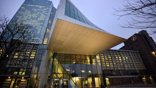 The ECB's headquarters in Frankfurt