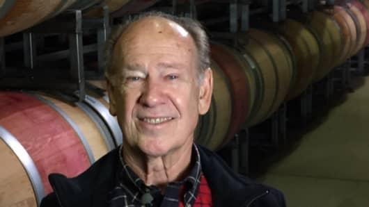 Dennis Groth runs Groth Vineyards & Winery in Oakville, California