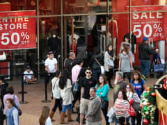 Shopping retail sales