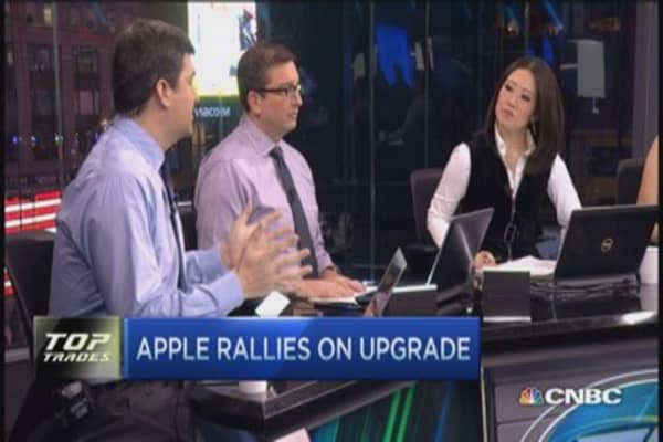 Apple upgrade, your Q1 trade