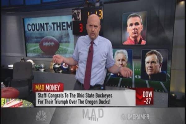 Cramer's bankable CEOs: Disney & Celgene