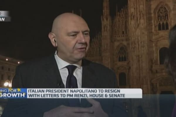 Italy's next president needs to be a unity figure: Pro