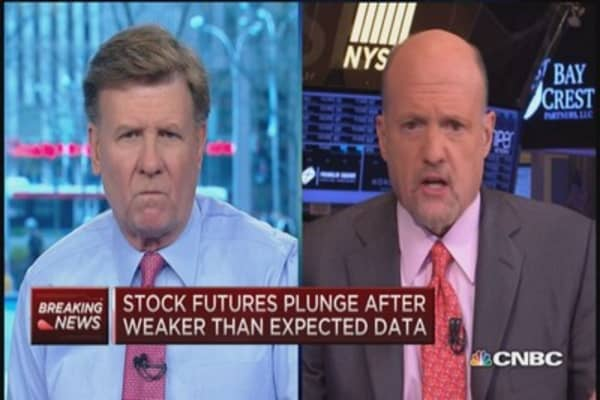 Cramer: Markets 'whippy'