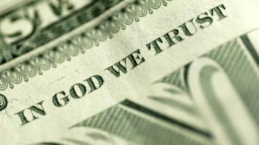 Money religion In God We Trust