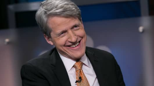 Robert Shiller, Yale University Professor of Economics, co-founder of Case-Shiller Index