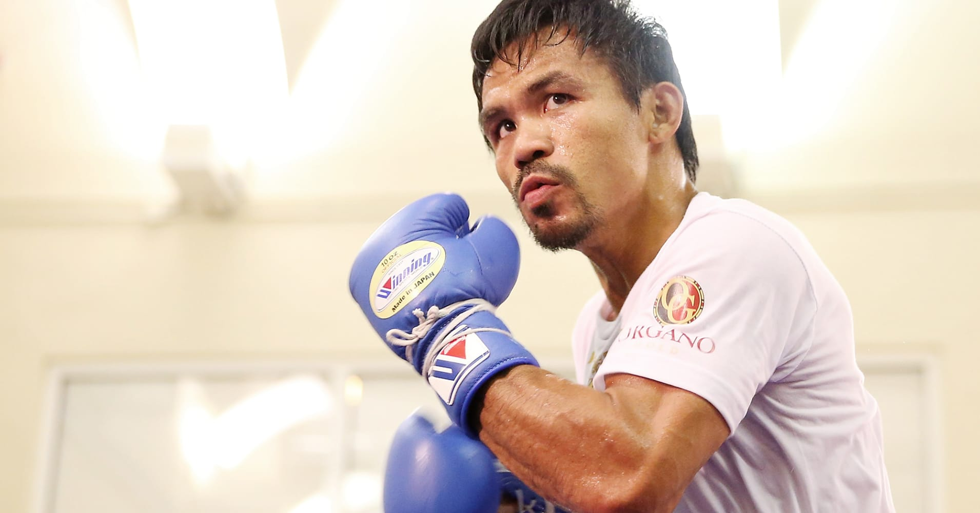 Manny Pacquiao to become the first Senator to win a world title…