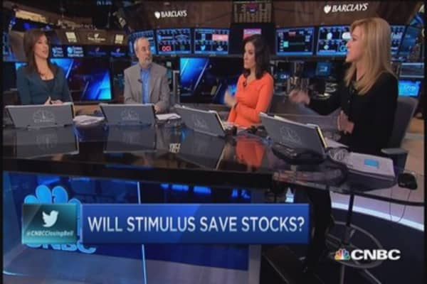 Can stimulus save stocks?