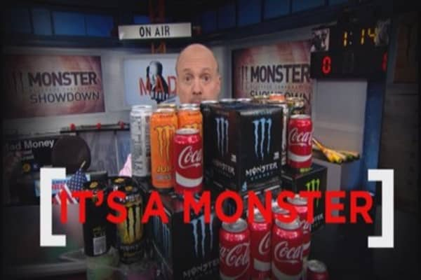 Cramer Remix: Coke, Pepsi or Monster?