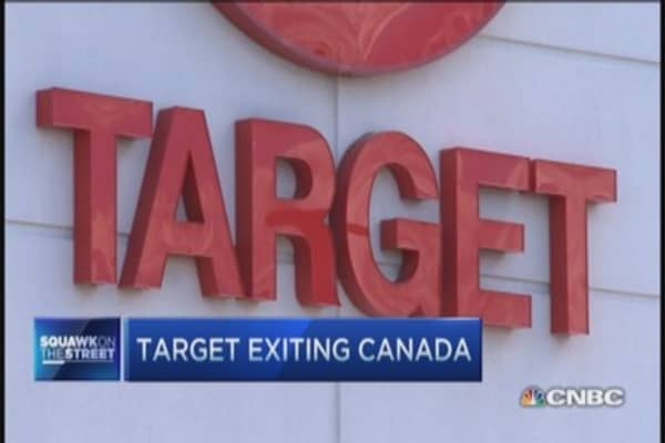 Target takes $7 billion loss & exits Canada