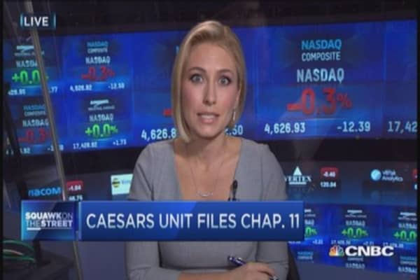 Caesars unit files Chapter 11