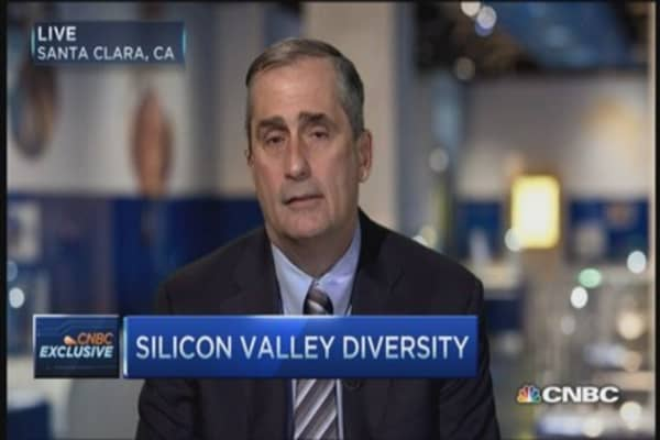 Why diversity is important: Intel CEO